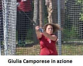 record italiano allieve martello,giulia camporese,altre notizie sportive