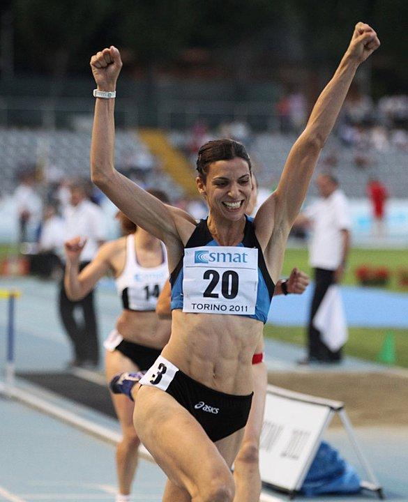 Marzia Caravelli record italiano ieri a Roma