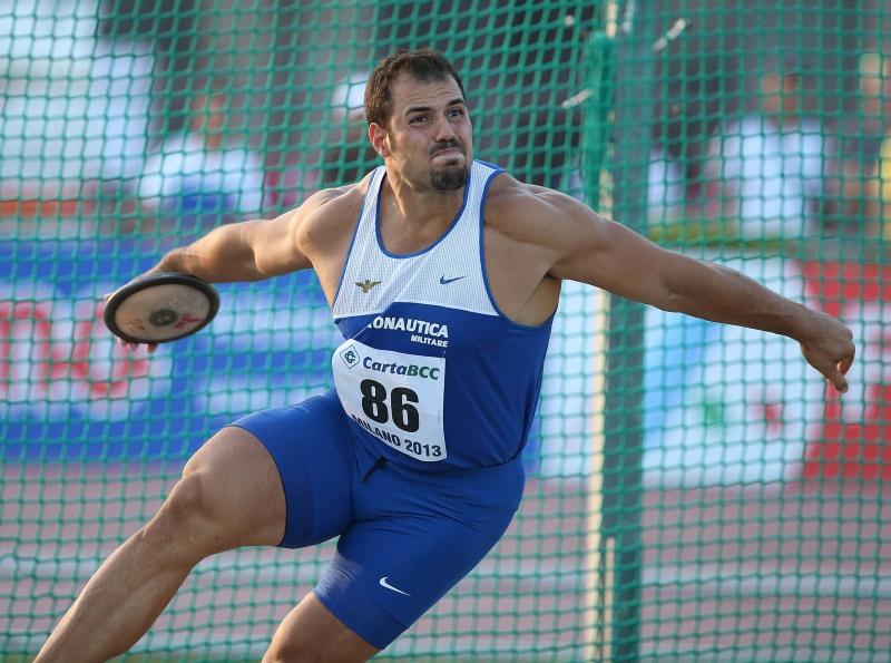 Nel disco Federico Apolloni supera i 60 metri  a Tarquinia