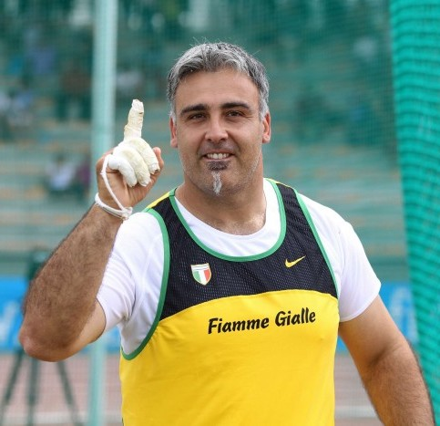 Ancora un miglioramento per  Nicola Vizzoni a Pontedera (PI)
