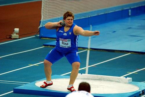 Indoor 2015, buon debutto di Chiara Rosa nel peso a Padova
