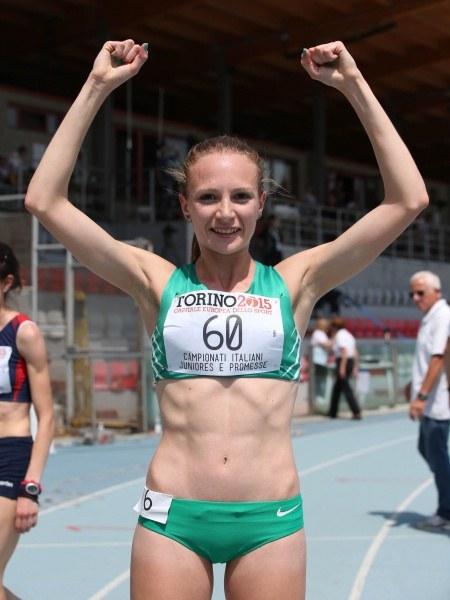 Tricolori  Junior e Promesse, grande Federica Del Buono nei 1500 metri