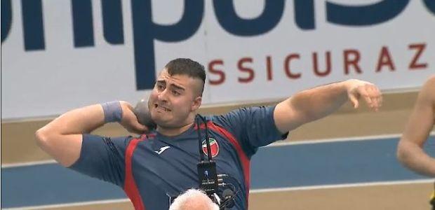 Record Italiano nel peso per Sebastiano Bianchetti
