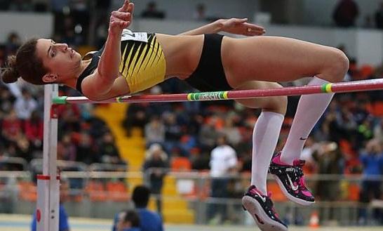 Splendida Trost  in Slovacchia vince la gara dell'alto con m. 1,96