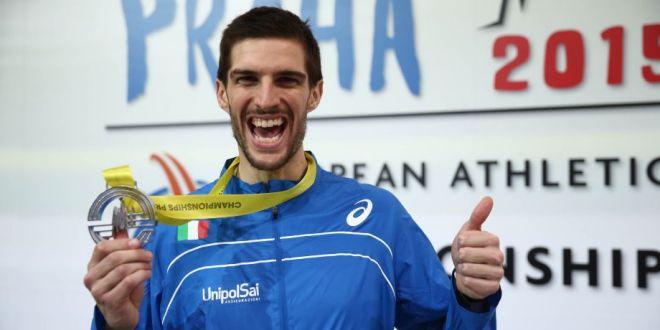 La  Fidal Trentino premia Silvano Chesani vice campione europeo dell'alto