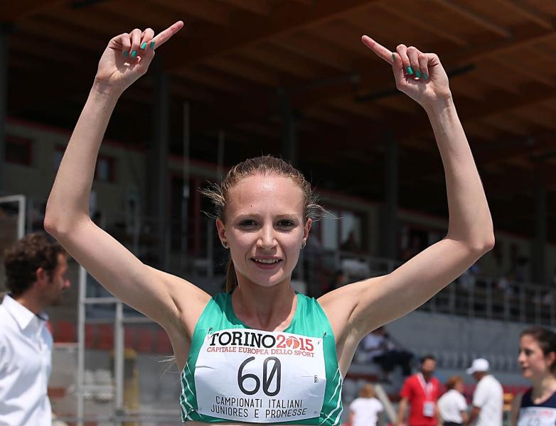 Federica Del Buono dopo il bronzo europeo vince la StraVicenza