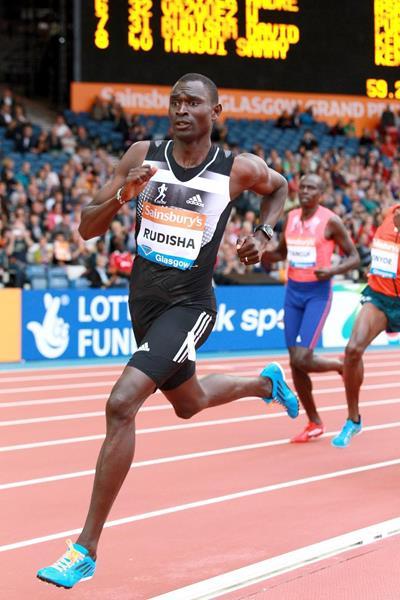 David Rudisha apre il 2015 con un fantastico 1: 45.01 a Sidney