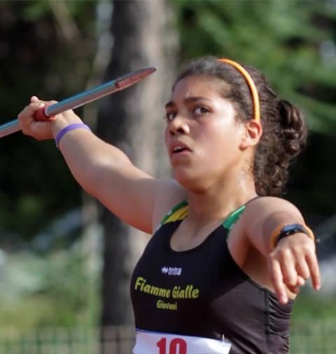 Carolina Visca ancora record italiano nel Giavellotto