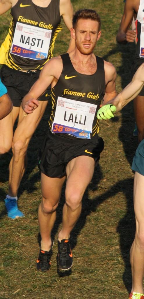 Andrea Lalli Domenica impegnato nella Maratona di Rotterdam
