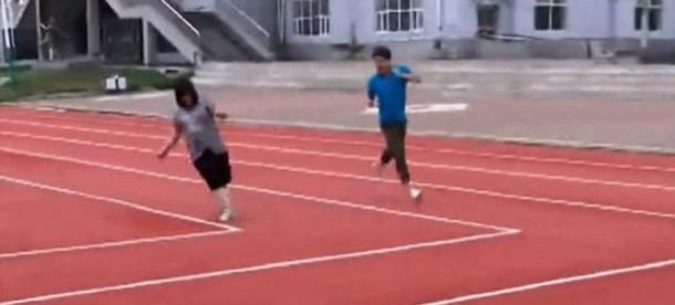 In Cina la pista di atletica rettangolare tornerà normale?