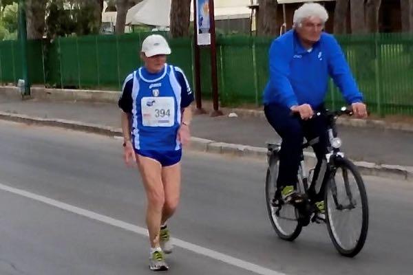 A 92 anni corre la 10 chilometri e vince il bronzo agli Europei Master di Grosseto