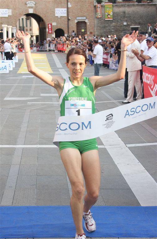 Silvia Weissteiner vince la  Oderzo Città Archeologica di ieri