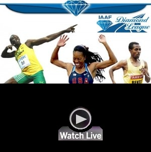 In diretta l'atletica della Diamond League questa sera su questo link