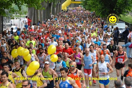 Kisorio trionfa nella Lucca Half Marathon da record: 2 mila 100 partecipanti!