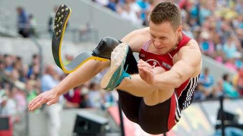A Hengelo atleta amputato, nel lungo batte Ashton Eaton superstar del decathlon