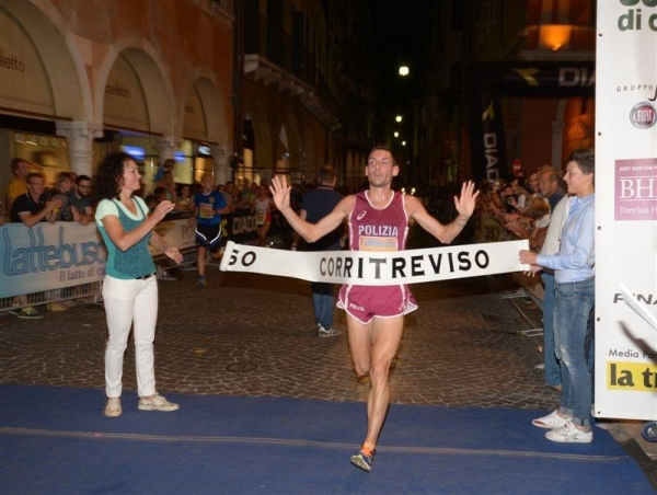Alla Corritreviso trionfo per Paolo Zanatta e Chiara Renso