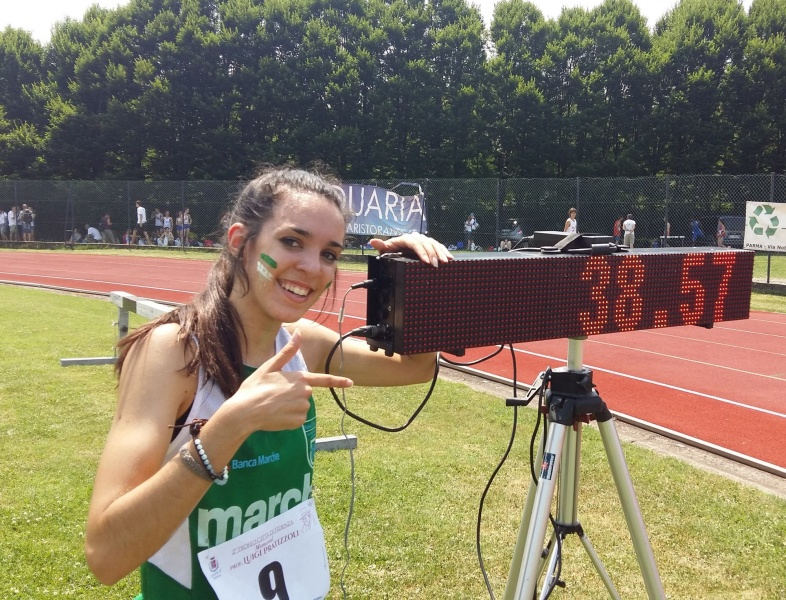 Risultati trofeo Città di Fidenza:  Elisabetta Vandi Record italiano nei 300 metri, la Lombardia vince la classifica a squadre