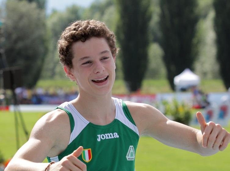 Filippo Tortu batte Andrew Howe stabilendo il Record Italiano nei 200 metri