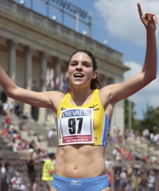 """Campionati Italiani Allievi, Marta Zenoni fa """"tremare"""" Gabriella Dorio"""