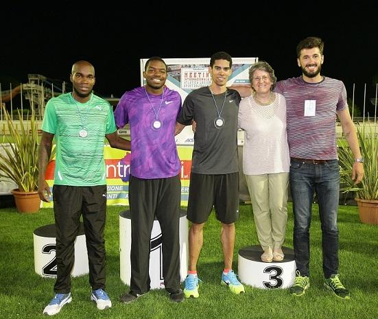 26° Meeting Sport Solidarietà  Caironi e Versace sui 100m e gli atleti di Special Olympics in pista con Carter e Fraser
