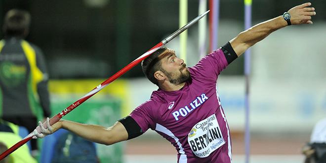 Campionati Italiani Assoluti di Torino risultati seconda giornata: il migliore è Bertolini nel Giavellotto, oggi attesa per Donato nel triplo