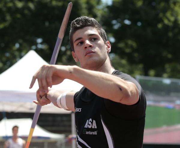 Mondiali Allievi Cali: Comini nel giavellotto in finale con il personale di m.74,58