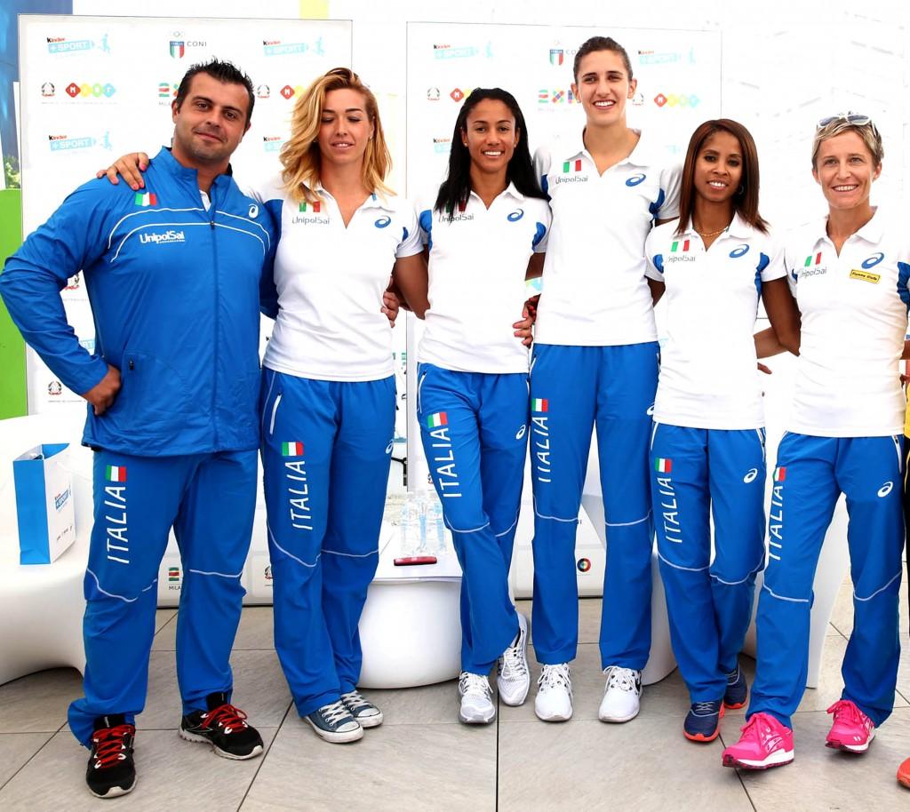 Mondiali  Pechino: presentata all'Expo di Milano la squadra azzurra