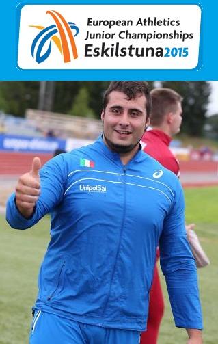 Campionati Europei Junior di Eskilstuna: bronzo per Sebastiano Bianchetti nel peso con Record Italiano