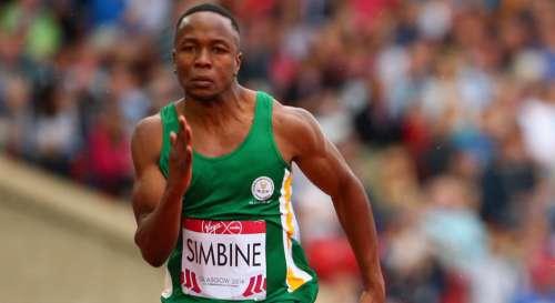 """Il Sudafricano Akani Simbine corre i 100 metri in 9.99 diventando il 103esimo atleta sotto i 10"""" nella storia"""