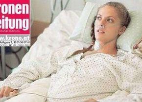 Kira Grünberg lascia la clinica e dopo l'incidente inizia la fase di riabilitazione