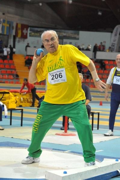 L'atletica Master piange la morte di NONNO Giuseppe Rovelli