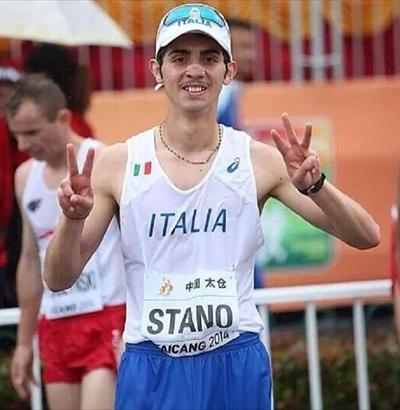 Mondiali atletica Pechino, Massimo Stano convocato nella marcia