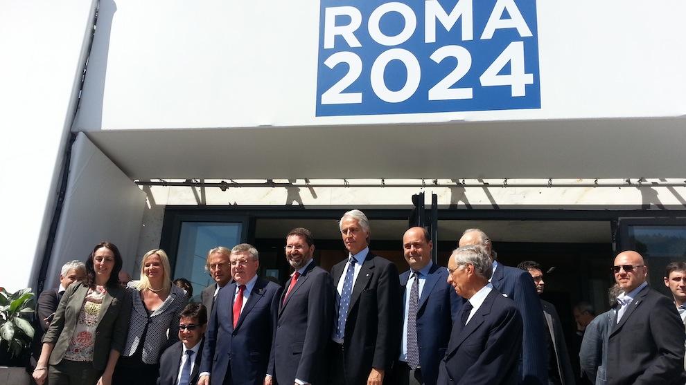 Olimpiadi Roma2024, Roma è ufficialmente candidata: firmata la lettera al Cio