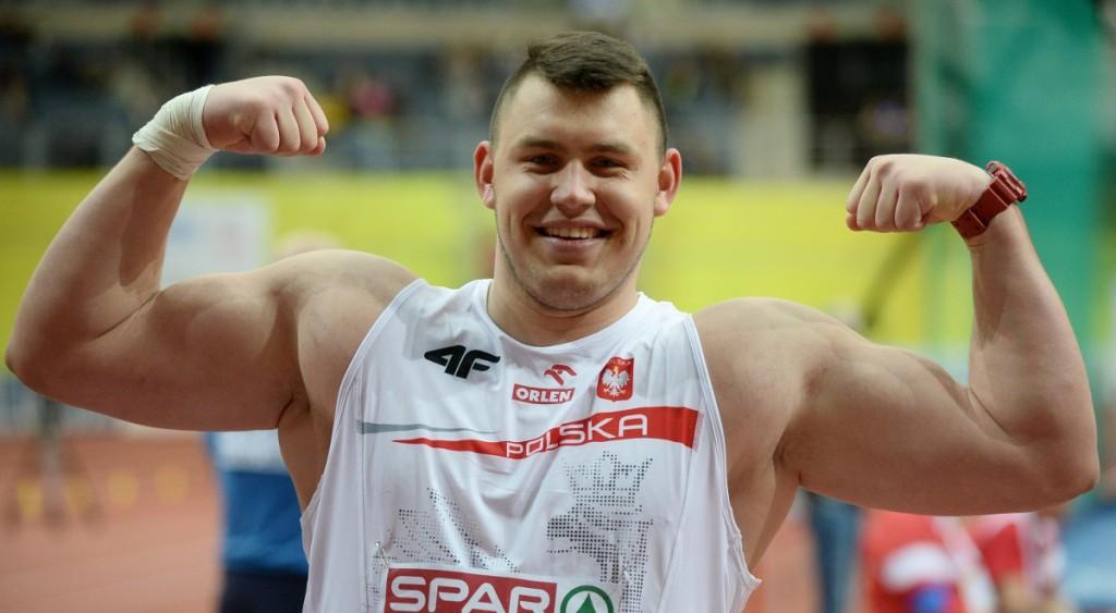Record del Mondo del Polacco Konrad Bukowiecki nel getto del peso