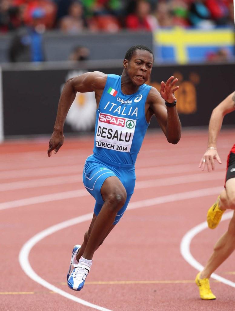 L'azzurro Desalu Campione del Mondo nei 200 metri a Giochi Mondiali Militari, Margherita Magnani Argento
