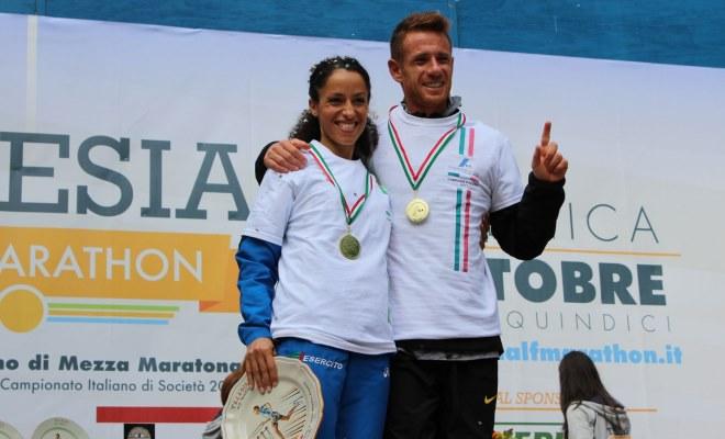 Campionati Italiani mezza maratona Telese: I titoli vanno a Lalli e alla Soufyane