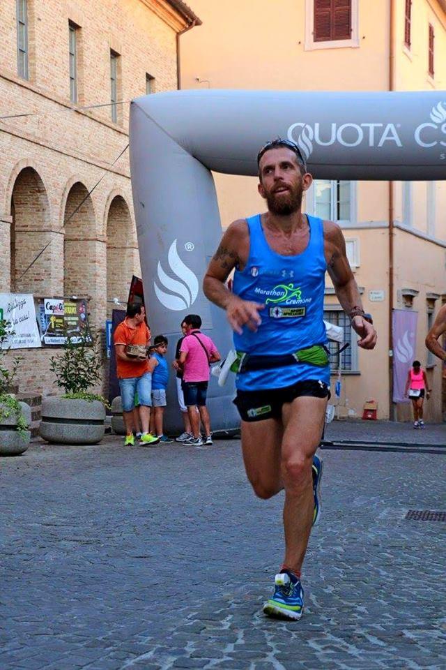 Federico Borlenghi vince la 1^ edizione della 100km dei due Mari- di  Matteo SIMONE