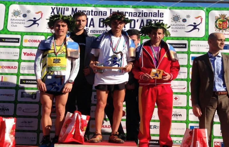 Assegnati a Dario Santoro e Catherine Bertone i tricolori di Maratona  a Ravenna
