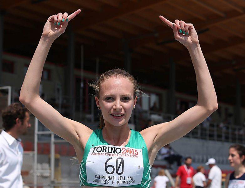 Federica Del Buono vince il cross della Valsugana dopo otto mesi di stop per infortunio