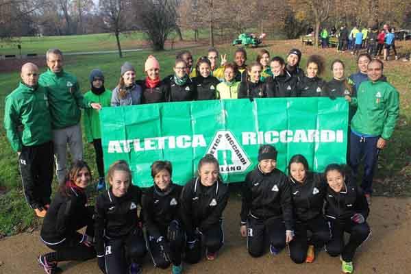 L'atletica Riccardi al Parco di Villa Borromeo per gli allenamenti