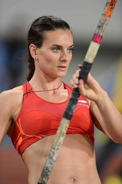 Isinbayeva: «Spero che la Russia sia presente alle Olimpiadi di Rio»