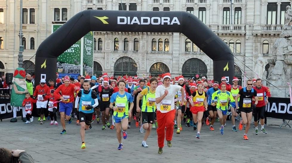 A Trieste grande successo per la Christmas Run