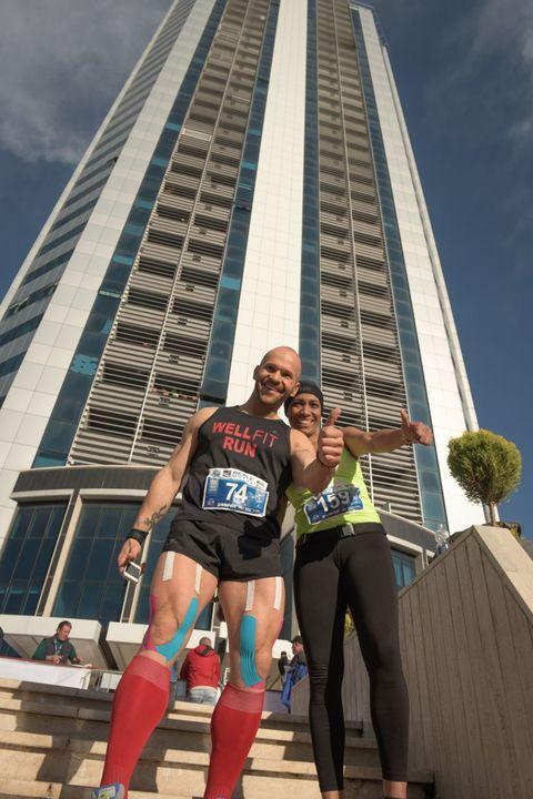 Latina Vertical Sprint: 201 atleti scalano la Torre Pontina, 727 gradini per 128 metri
