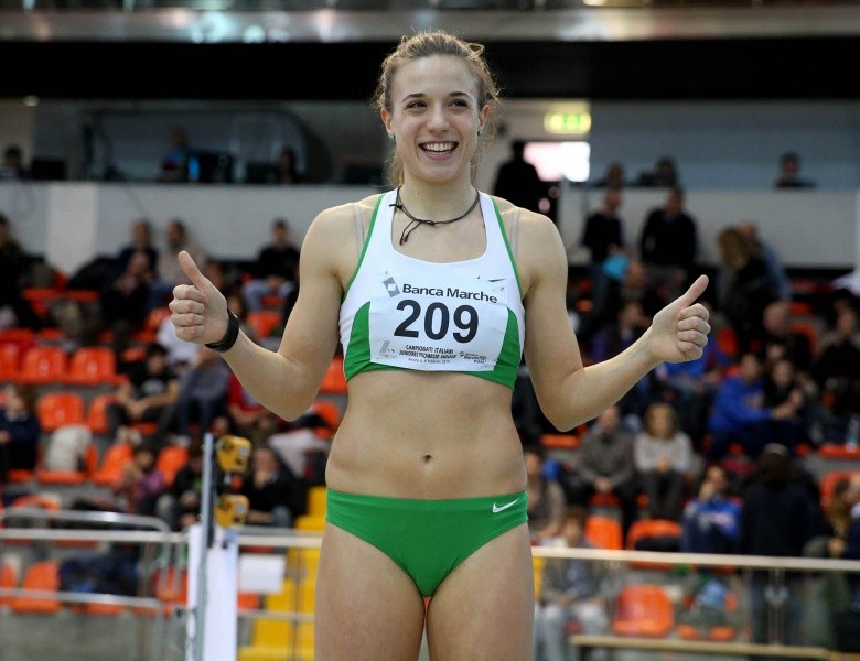 Ottavia Cestonaro vince a Padova i Campionati Italiani indoor di Prove Multiple