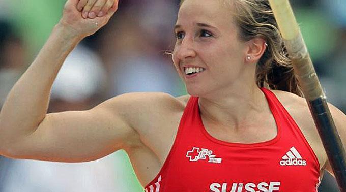 Nuovo record Svizzero di Nicole Büchler nell'asta