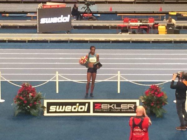 Genzebe Dibaba Record del Mondo sul miglio Indoor in Svezia