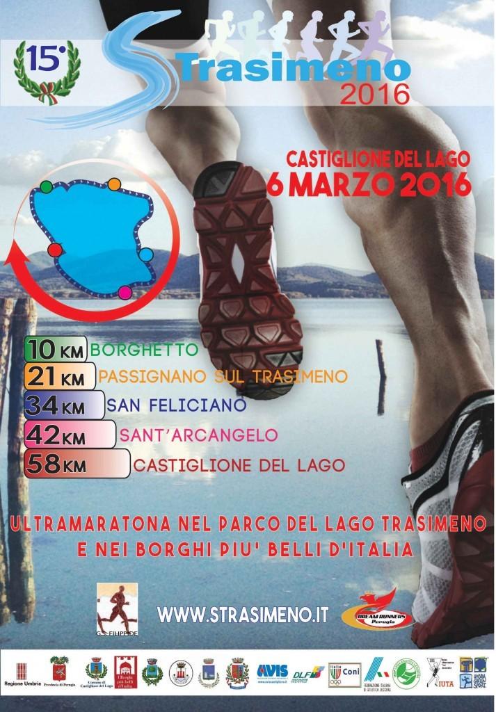 """Presentata alla stampa l'edizione 2016 dell'ultramaratona """"Strasimeno"""""""
