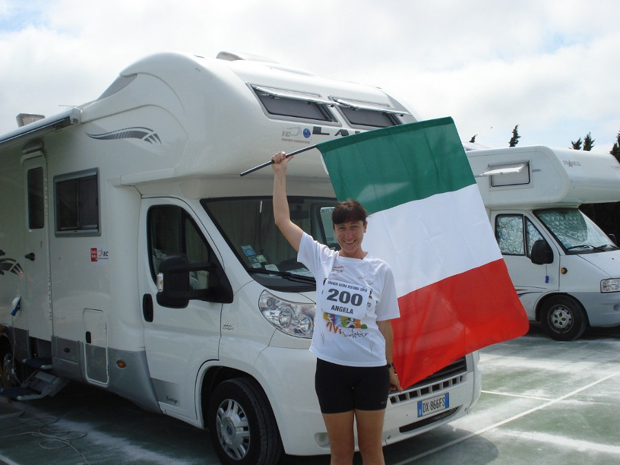 Angela Gargano, Guinness World Record, 100 maratone in un anno- di Matteo SIMONE
