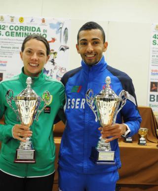 Corrida di San Geminiano 2016: Silvia Weissteiner ottima terza