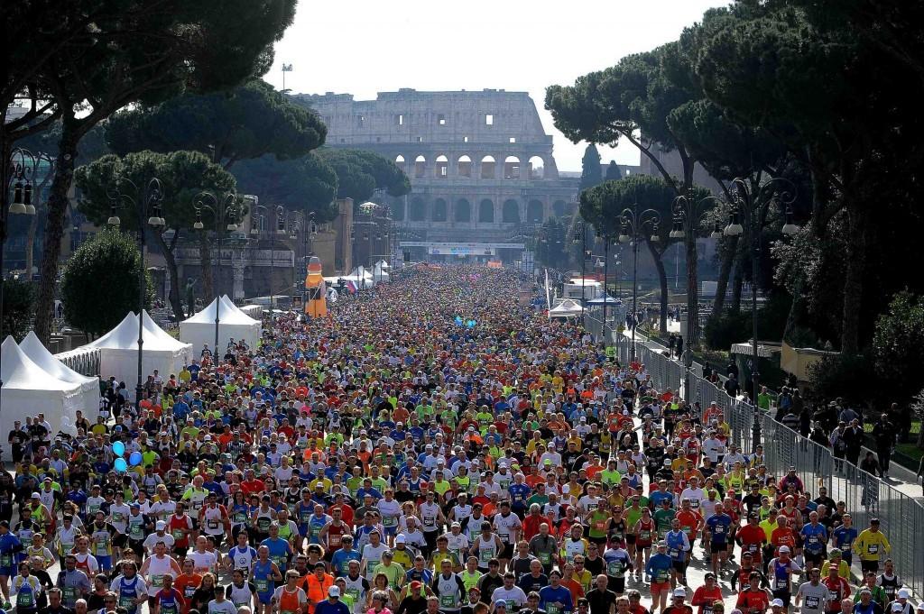 Il 10 aprile partirà la Maratona di Roma: sono attesi 100.000 partecipanti-la diretta streaming